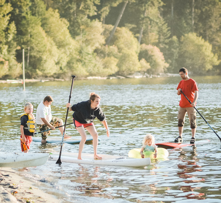 lopez island stand up paddle